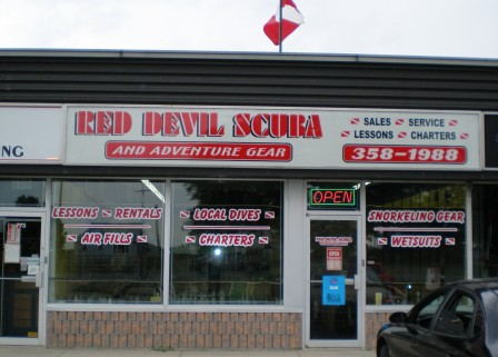 Red Devil Scuba Supplies, 771 St Clair St , Chatham, ON, N7M5J7, Canada